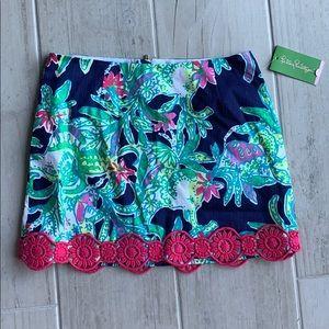 Lilly Pulitzer Tate skirt size 2